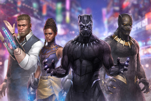 Black Panther Marvel Fight