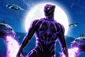 Black Panther Movie 2018 Artwork
