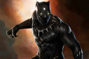 Black Panther Super Hero