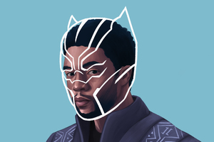 Black Panther T Challa 2018 Fan Artwork