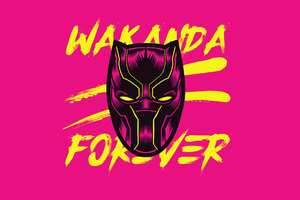Black Panther Wakanda Forever Wallpaper