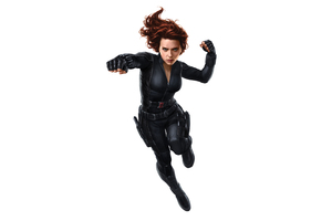 Black Widow In Avengers Infinity War 2018 Artwork