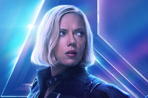 Black Widow In Avengers Infinity War New Poster