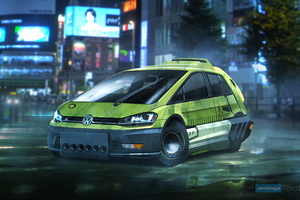 Blade Runner Volkswagen Golf Hatchback