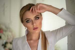 Blonde Women Portrait