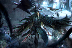 Bloodborne Crow Dagger Warrior Game