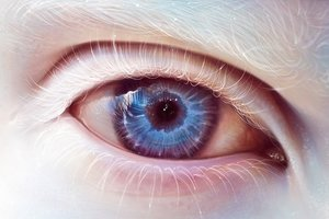 Blue Eye Art