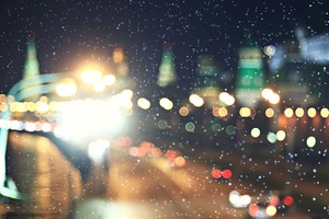 Blurred Lights Bokeh 5k Wallpaper