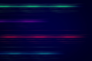 Blurred Lines Abstract Wallpaper