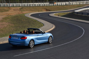 BMW 220i Cabrio Luxury Line 2017