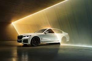 Bmw 745 M Sport 4k Wallpaper
