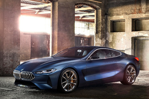 BMW 8 Series Concept 2017 Wallpaper