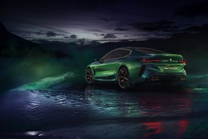 Bmw Concept M8 Gran Coupe 8k Wallpaper