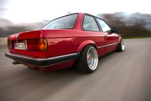 BMW E30 Old Sport Car