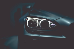 Bmw Headlights Wallpaper