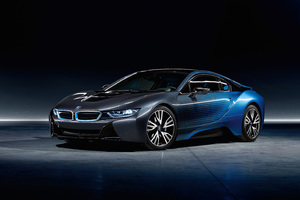 BMW i8 CrossFade Paint Garage Italia Wallpaper