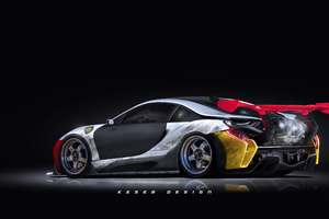 Bmw I8 Digital Art Tuned
