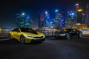 BMW I8 Frozen Yellow Edition Wallpaper