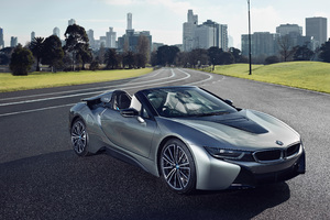 BMW I8 Roadster 2018 Front