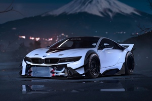 Bmw i8 Tuned Wallpaper