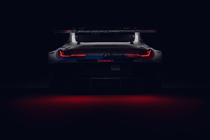 Bmw M4 Dtm Rear Lights Wallpaper