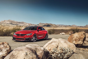 Bmw M4 Ferrada Wheels 8k Wallpaper