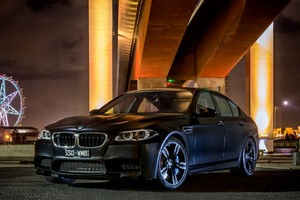 Bmw M5 Black 2 Wallpaper