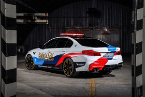 Bmw M5 Motogp Safety Car 4k