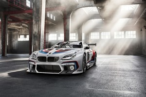 BMW M6 Racing Car Wallpaper