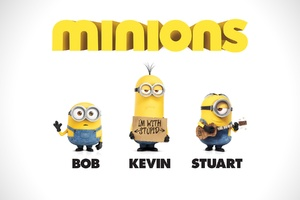 Bob Kevin Stuart in Minions Wallpaper