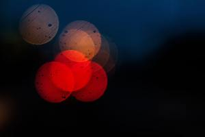 Bokeh Colors Dark Blur 5k Wallpaper