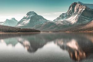 Bow Lake Wallpaper
