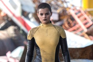 Brianna Hildebrand Deadpool Wallpaper
