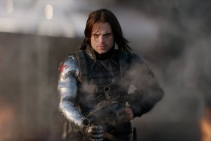 Bucky In Captain America Civil War Wallpaper
