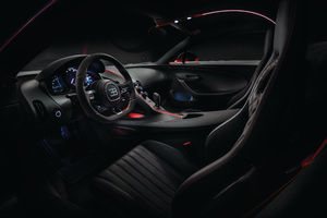 Bugatti Chiron Interior 2018 4k Wallpaper