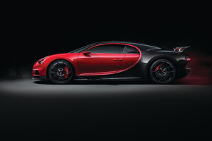 Bugatti Chiron Side View 4k Wallpaper