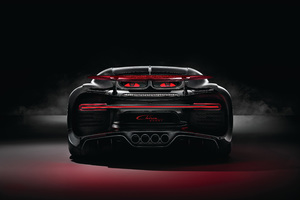 Bugatti Chiron Sport 2018 Rear Lights 4k Wallpaper
