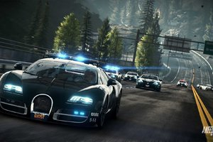 Bugatti Cop Car Wallpaper