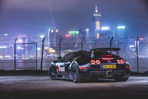 Bugatti In Hong Kong Wallpaper
