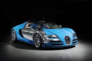 Bugatti Veyron Grand Sport Vitesse HD Wallpaper