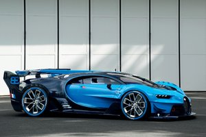 Bugatti Vision Gran Turismo PC Wallpaper