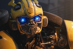 Bumblebee 2018 4k Wallpaper