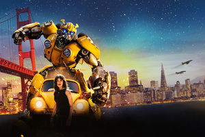 Bumblebee Movie 8k Wallpaper