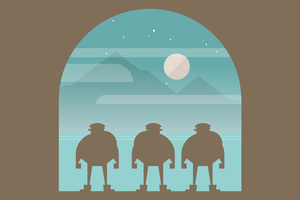 Burly Men At Sea Wallpaper