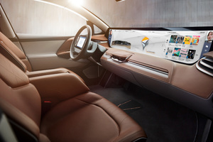 Byton Electric Car Interior