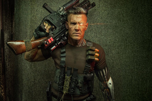 Cable Deadpool 2 Wallpaper