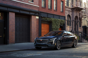 Cadillac CT6 V Sport 2019 Side View