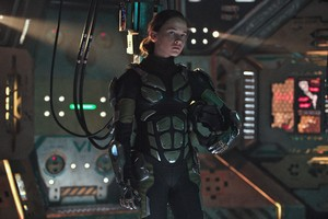 Cailee Spaeny In Pacific Rim Uprising 2018 Wallpaper