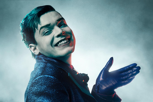 Cameron Monaghan As Jerome In Gotham Season 5 Wallpaper