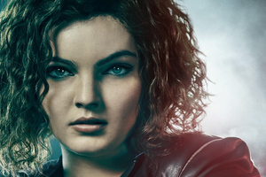 Camren Bicondova As Selina Kyle In Gotham Season 5 Wallpaper